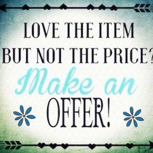 Make me an Offer!!!!